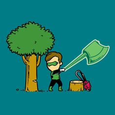 Part time job Super-Heros Green Lantern