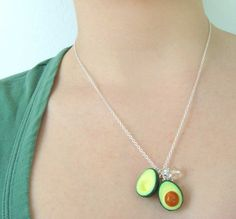 This necklace reminds me of a friend of mine. http://www.etsy.com/listing/67946982/sliced-avocado-necklace-with-crystals?ref=sr_gallery_34&ga;_search_query=avocado+necklace&ga;_page=1&ga;_search_type=handmade&ga;_facet=handmade