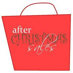 After Christmas And End Of Year Clearance Sales