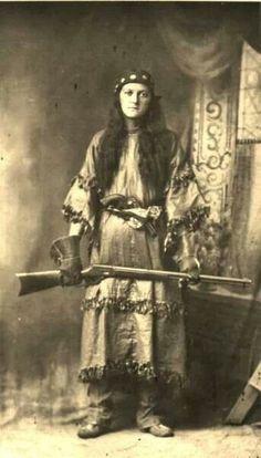 Creek Woman Warrior~1900's