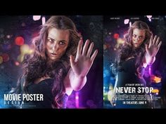 Create an Movie Poster With Bokeh And Light Effect In Photoshop CC - YouTube