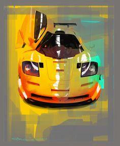 McLaren by Ege Arguden