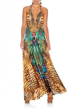 CAMILLA ROAR OF THE WILD MULTI WEAR DRESS 2