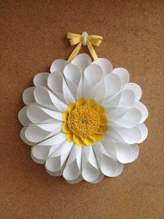 Diy Crafts - -Outstanding mason jar info are readily available on our internet site. Giant Paper Flowers, Diy Flowers, Paper Sunflowers, Diy Paper, Paper Crafts, Diy And Crafts, Crafts For Kids, Fleurs Diy, Paper Flower Backdrop