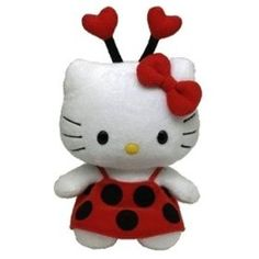 TY Beanie Baby - HELLO KITTY ( LADYBUG ) (UK Exclusive) #HELLO KITTY  www.empowernetwork.com/almostasecret.php?id=ethan1