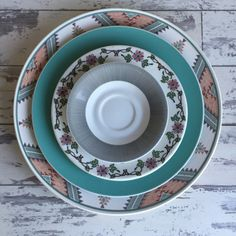 Vintage Mikasa Charger Plater - Intaglio Santa Fe Pattern by TheClassicButterfly on Etsy