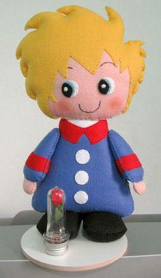 Bonecos  Pequeno Príncipe, Raposa e Ovelha. Também pode ser usado como topo de bolo. R$ 129,00