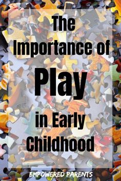 Play is the most vital activity for children. Read all about the importance of play in early childhood and why children need to do it every day. childhood education What Every Parent Should Know About the Importance of Play in Early Childhood Childcare Activities, Preschool Curriculum, Preschool Learning, In Kindergarten, Activities For Kids, Homeschooling, Teaching, Play Based Learning, Learning Through Play
