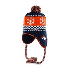 Broncos Abomination Sherpa Knit Hat.