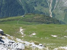 View down to Fürenalp Mountains, Nature, Travel, Naturaleza, Viajes, Trips, Nature Illustration, Outdoors, Traveling