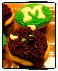 Marco Cupcakes. Marshall University mascot.