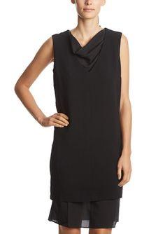 On ideel: PREMISE Sleeveless Cowl Neck Dress