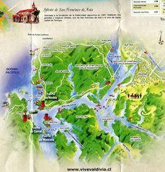 mapa valdivia