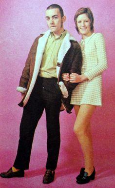 March 1970 skinhead themed fashion shoot