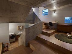 Minimalista residencia unifamiliar en Nishiochiai