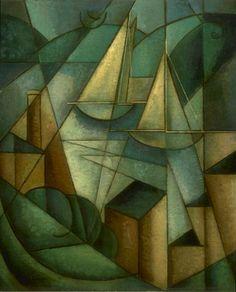 Sailboats, Jean Metzinger, 1912