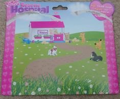 Animagic Rescue Hospital Horse Recovery Playset back card- Rosie the Horse