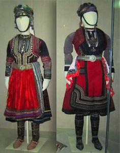 Costumes of _______, Macedonia National Museum, Skopje, Macedonia
