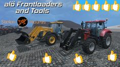 Review Alö Frontloader and Tools #FS15