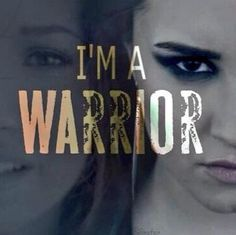 Warrior - Demi Lovato (probably one of my favorites on the whole album, it's just... beautiful!!!)