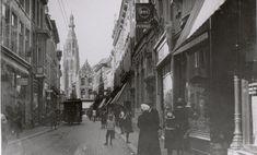 De Eindstraat in Breda omstreeks 1920