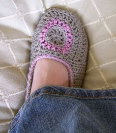free knitting patterns slippers | Free Baby Crochet Ballet Slipper Pattern. | Free Crochet Baby Booti