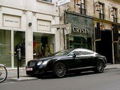 Bentley Continental GT.  Boss!