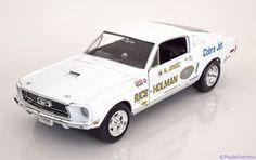 Ford Mustang S/S Cobra Jet, Super Stock Eliminator 1968, Al Joniec. Ertl/Auto World, 1/18, No.AW203. 40€