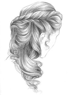 Spent a month on those hair illustration for a parisian corner, 365c.