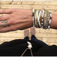 Stack em' up! Which #armcandy is your favorite essential? Let us know in the…