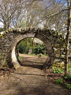Port na Craig, Pitlochry, Scotland. Moon Gate.