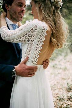 Beautiful white wedding dress Brautkleid Günstig, Brautkleid Vintage, Boho  Hochzeitskleid, Kleid Hochzeit, 377edb369c