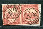 AUSTRALIA NEW SOUTH WALES NSW PAIR OF 1 PENNY SYDNEY VIEWS ON PIECE
