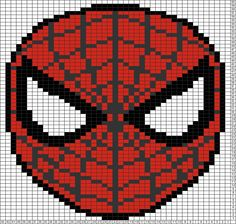Tricksy Knitter Charts: Spiderman (87264) by Anne Petrie