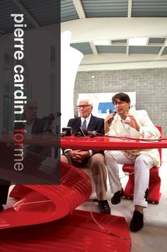 Pierre Cardin & Rodrigo Basilicati with Cobra chair&table