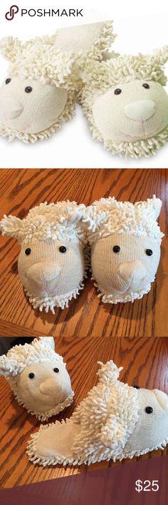Spa Comfort lamb slippers. size medium-large Excellent condition Spa Comfort lamb slippers. size medium-large Spa Comfort Shoes Slippers