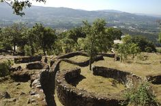 The Citânia de Briteiros is an archaeological site of the Castro culture (material Celtic culture) located in the municipality of Guimarães, Portugal.