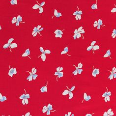 Amelia Petal - this would make a beautiful 1940's Tea Dress // Sew Over It Online Fabric Shop