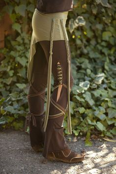 Tassel Lace Up Dance Pants - in Brown - you choose your color strings. $82.00, via Etsy. http://www.etsy.com/listing/109580253/tassel-lace-up-dance-pants-in-brown-you?ref=usr_faveitems_uid=7995977