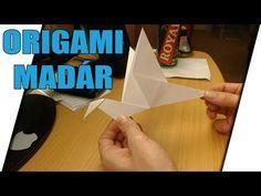 Szárnyát mozgató papír madár [ORIGAMI] - YouTube