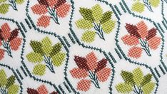 Well done vintage 1950s handmade embroidered by NORDICARTLINENS