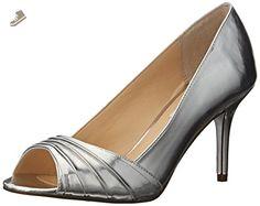 Nina Women's Vesta YY Dress Pump, Silver, 7.5 M US - Nina pumps for women (*Amazon Partner-Link)