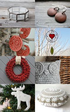 Lovely Finds for Christmas by Marylène Chauveau on Etsy--Pinned with TreasuryPin.com