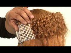 Alfaparf Milano USA - Supermeches+ Bleaching Technique #5: Sunray - YouTube