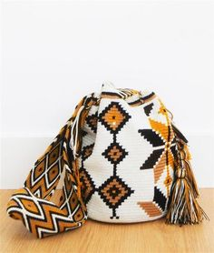 wayuu mochila bag neutral