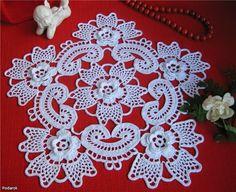 Hobby lavori femminili - ricamo - uncinetto - maglia: schemi rotondi uncinetto