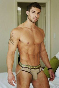 hot dog sexy nude male man underwear model shirtless abs muscle by Pec Man, Fitness Models, Male Fitness, Men's Undies, Athletic Supporter, Le Male, Male Man, Hommes Sexy, Hot Hunks
