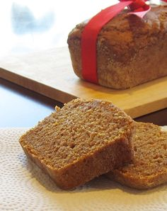 Gluten-Free, Egg-Free, Dairy-Free, Soy-Free, Nut-Free, and Vegan Pumpkin Bread!