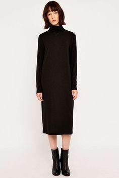 Selected Femme - Robe Mellie à manches longues en laine
