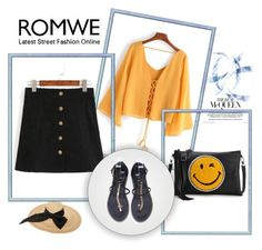 """Romwe 10/I"" by hedija-okanovic ❤ liked on Polyvore featuring Kreisi Couture"